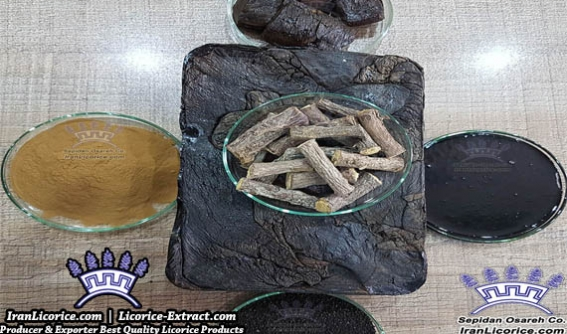 Licorice Extract Block Nuggets Powder Granules Liquid Paste Blocks
