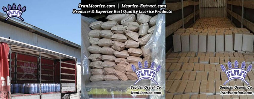 Licorice Export Powder Liquid Block